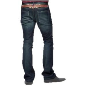 RIFF STARS Rolling Stones Union Jack Boots Jeans